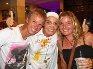 Carmen edwin & lisi snorkel test