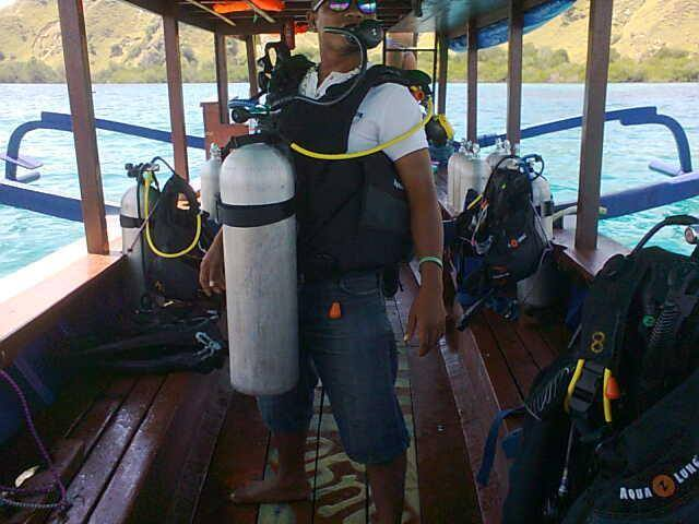 Ready to go diving!
